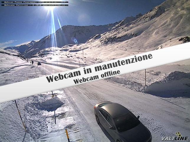 Webcam LIVE di Passo Foscagno