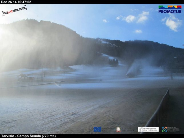 Webcam LIVE di Tarvisio (750m)