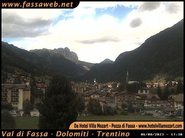 Webcam LIVE di Val di Fassa 1.325m