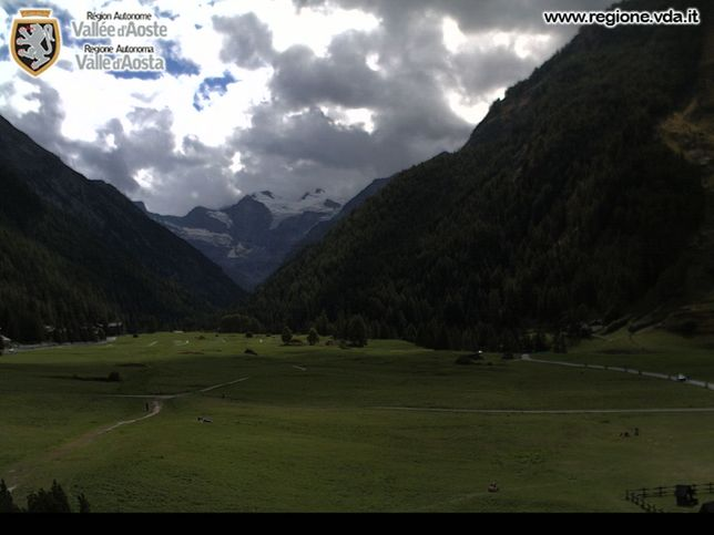 Webcam LIVE di Cogne 1.500m (AO)