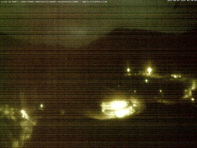 Webcam LIVE di Foppolo 1.650m