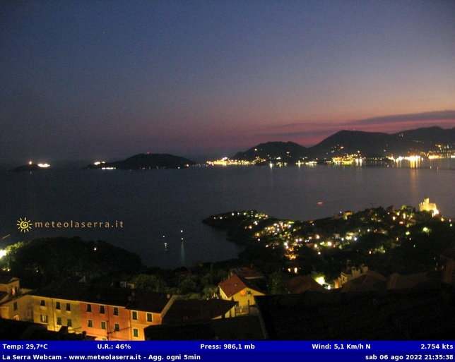 Webcam LIVE di Lerici (SP)