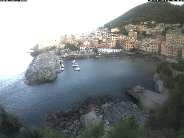 Webcam LIVE di Genova Nervi