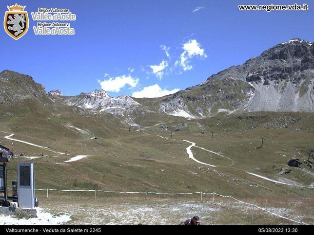 Webcam LIVE di Valtournenche 2.245m