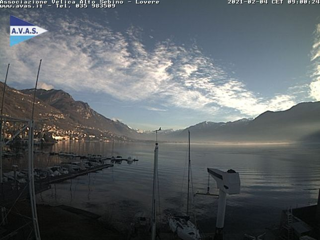 Webcam LIVE di Lovere lago (BG)