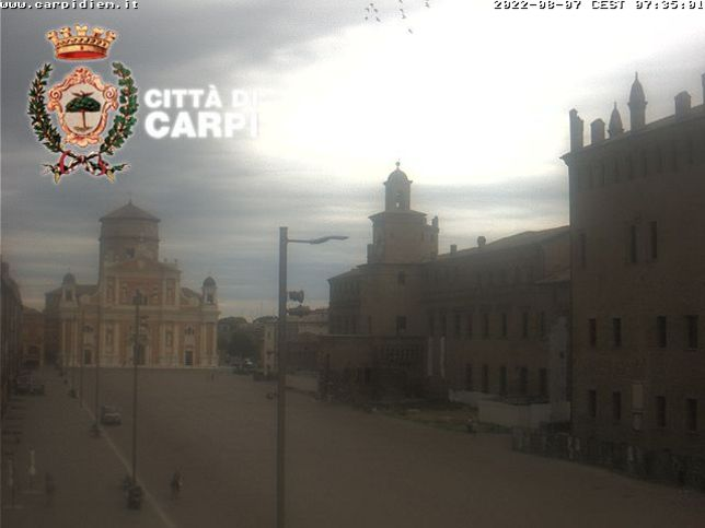 Webcam LIVE di Carpi (MO)