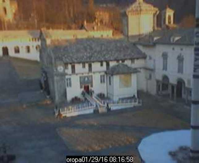 Webcam LIVE di Oropa (1180m)