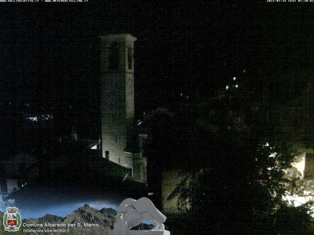 Webcam LIVE di Valtellina Albaredo 910m