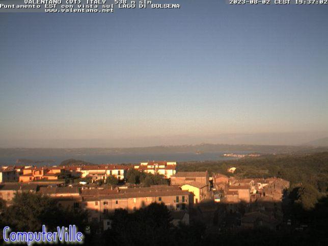 Webcam LIVE di Valentano - Bolsena