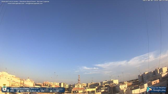 Webcam LIVE di Lecce