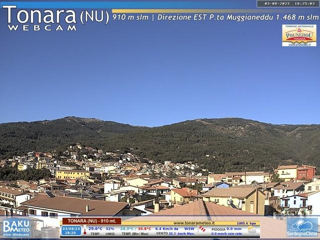 Webcam LIVE di Tonara (Nuoro)