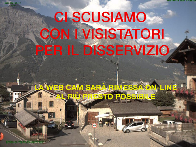 Webcam LIVE di Bormio alta