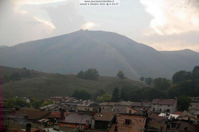 Webcam LIVE di Pescasseroli (1.167m)