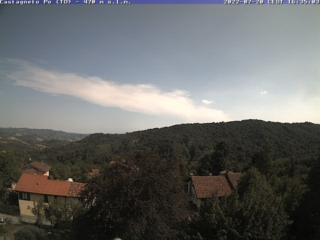 Webcam LIVE di Castagneto Po
