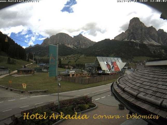 Webcam LIVE di Corvara