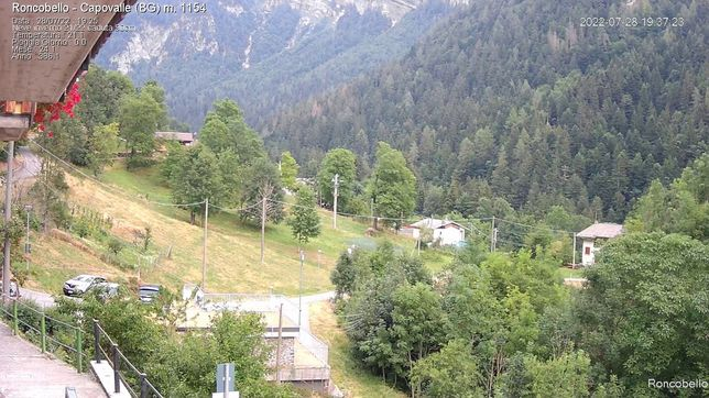Webcam LIVE di Roncobello (BG)