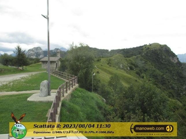 Webcam LIVE di M. Cornizzolo