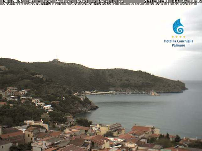 Webcam LIVE di Palinuro