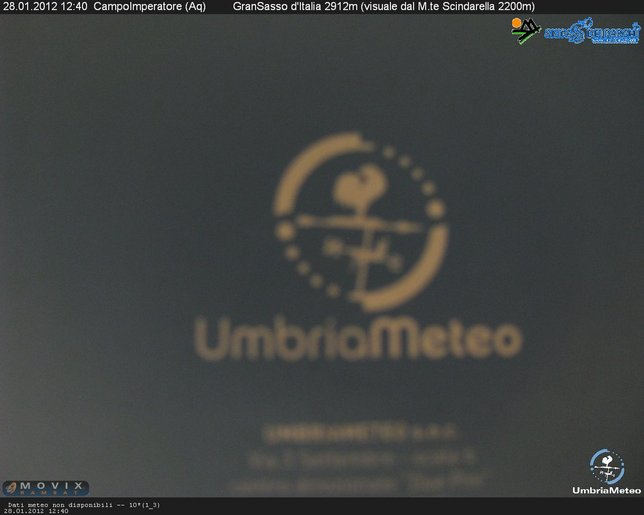 Webcam LIVE di Campo Imperatore