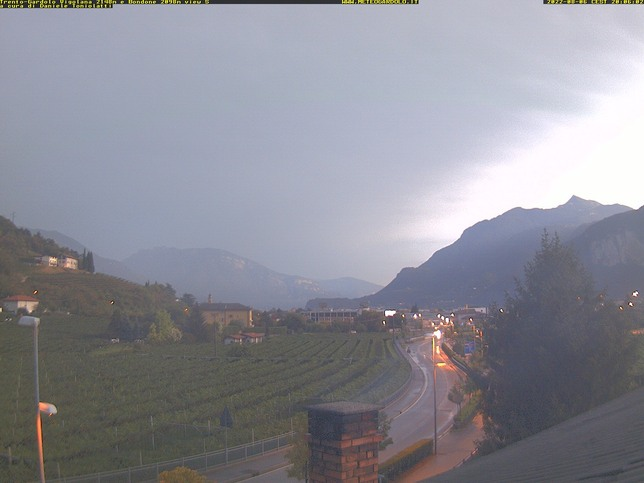 Webcam LIVE di Trento nord