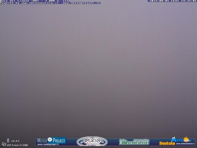 Webcam LIVE di Buca del Cimone
