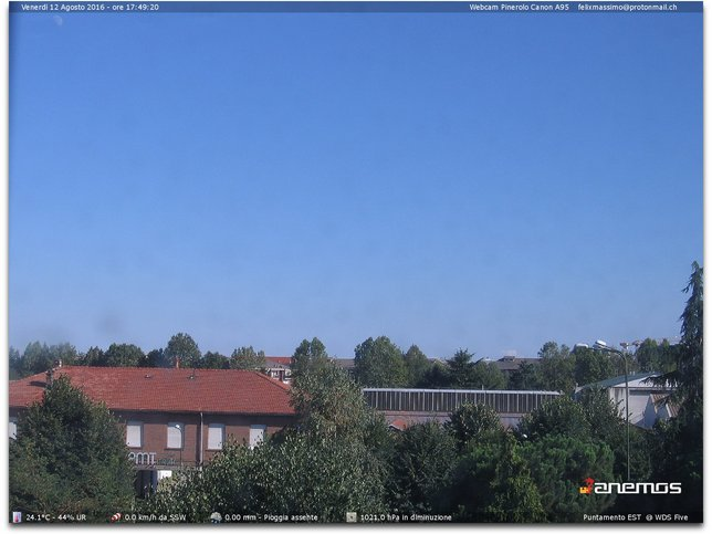 Webcam LIVE di Pinerolo