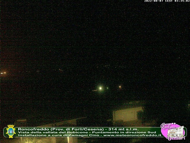 Webcam LIVE di Roncofreddo