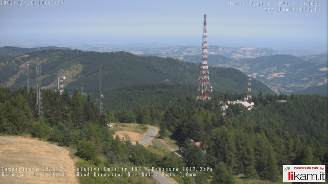 Webcam LIVE di Monte Penice