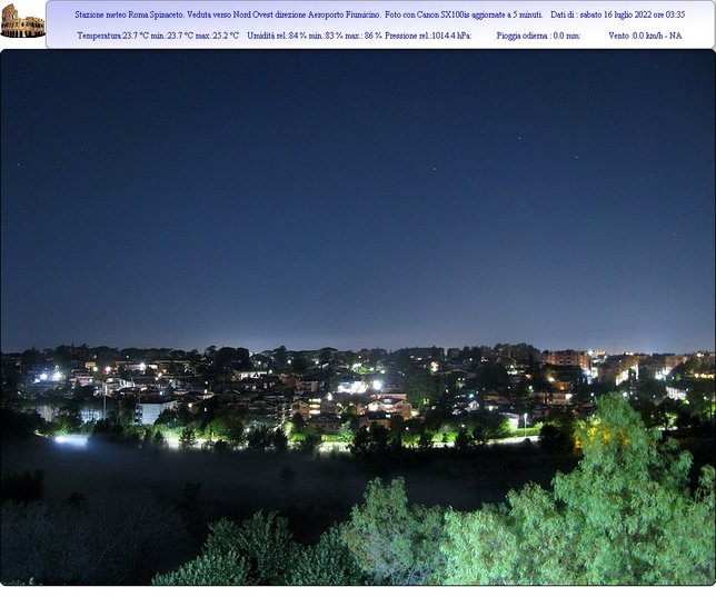 Webcam LIVE di Roma sud