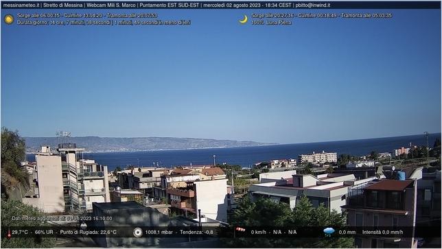 Webcam LIVE di Messina