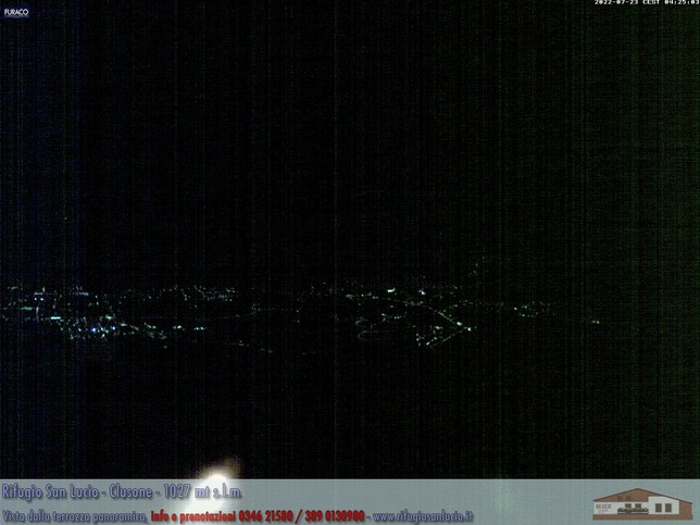 Webcam LIVE di Clusone 1027m