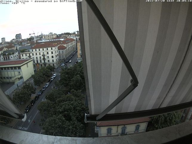 Webcam LIVE di Milano città