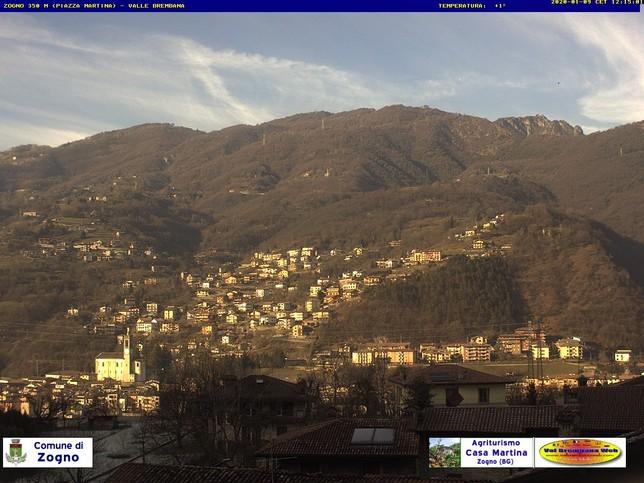 Webcam LIVE di Zogno
