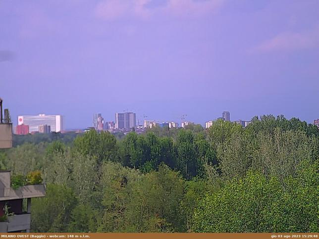 Webcam LIVE di Milano ovest