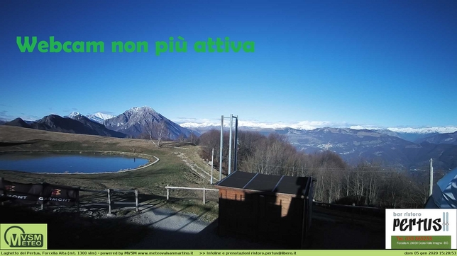 Webcam LIVE di Costa Valle Imagna